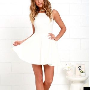 Ivory minidress